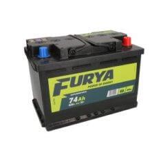 Akumulator FURYA 74Ah 620A P+