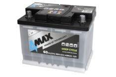 Akumulator 4MAX BAT60/420P/DC 60Ah 450A P+