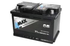 Akumulator 4MAX ECOLINE 71Ah 620A P+