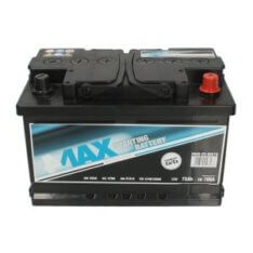 Akumulator 4MAX ECOLINE 75Ah 700A P+