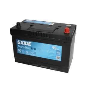 Akumulator EXIDE EFB 95Ah 800A P+