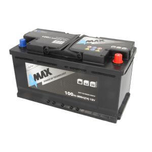 Akumulator 4MAX ECOLINE 100Ah 800A P+ CARGO